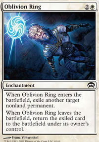 Oblivion Ring - Planechase decks