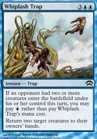 Whiplash Trap - Planechase decks