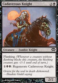Cadaverous Knight - Planechase decks