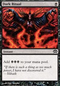 Dark Ritual - Planechase decks