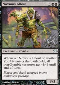 Noxious Ghoul - Planechase decks