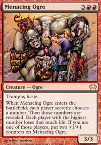 Menacing Ogre - Planechase decks