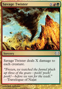 Savage Twister - Planechase decks