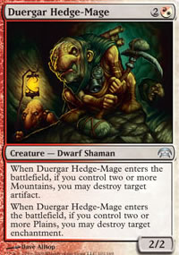 Duergar Hedge-Mage - Planechase decks
