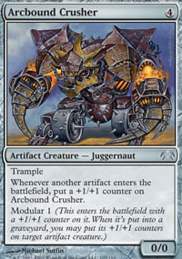 Arcbound Crusher - Planechase decks