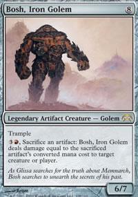Bosh, Iron Golem - Planechase decks