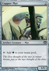 Copper Myr - Planechase decks
