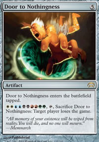 Door to Nothingness - Planechase decks