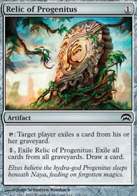 Relic of Progenitus - Planechase decks