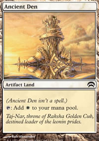 Ancient Den - Planechase decks