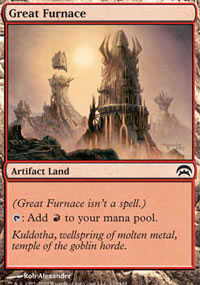 Great Furnace - Planechase decks
