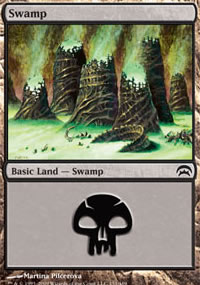 Swamp 1 - Planechase decks