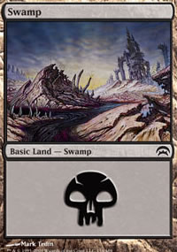 Swamp 4 - Planechase decks