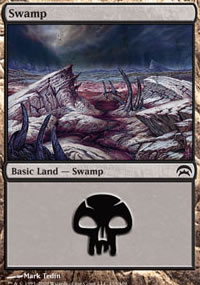 Swamp 5 - Planechase decks