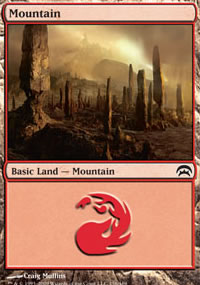 Mountain 1 - Planechase decks