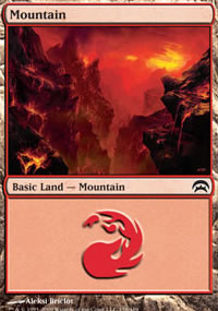 Mountain 3 - Planechase decks
