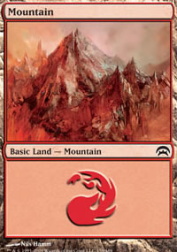 Mountain 4 - Planechase decks