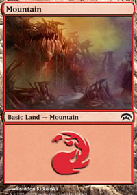 Mountain 9 - Planechase decks