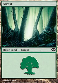 Forest 1 - Planechase decks