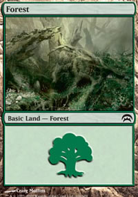 Forest 2 - Planechase decks