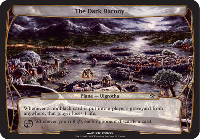 The Dark Barony - Planechase