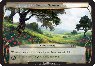 Fields of Summer - Planechase