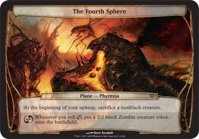 The Fourth Sphere - Planechase