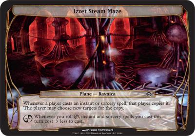 Izzet Steam Maze - Planechase