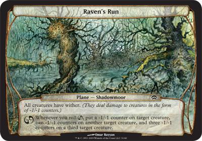 Raven's Run - Planechase