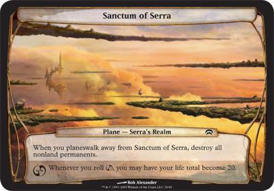 Sanctum of Serra - Planechase
