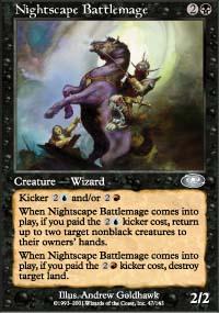 Nightscape Battlemage - Planeshift