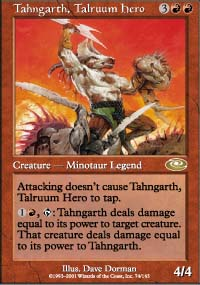 Tahngarth, Talruum Hero 1 - Planeshift