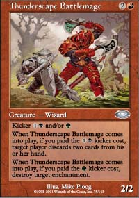 Thunderscape Battlemage - Planeshift