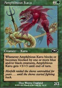 Amphibious Kavu - Planeshift