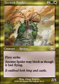 Ancient Spider - Planeshift