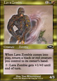 Lava Zombie - Planeshift