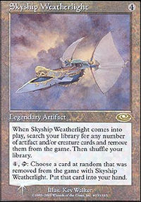 Skyship Weatherlight 2 - Planeshift