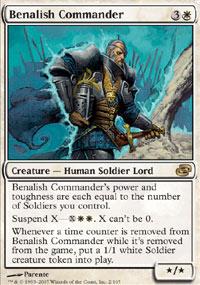 Benalish Commander - Planar Chaos