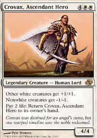Crovax, Ascendant Hero - Planar Chaos