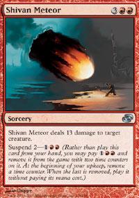 Shivan Meteor - Planar Chaos
