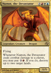 Numot, the Devastator - Planar Chaos