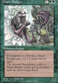Giant Badger - Promos diverses