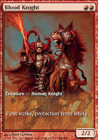 Blood Knight - Promos diverses