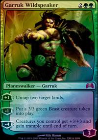 Garruk Wildspeaker - Promos diverses
