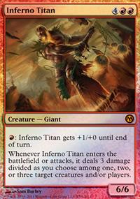 Inferno Titan - Promos diverses