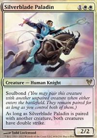 Silverblade Paladin - Promos diverses
