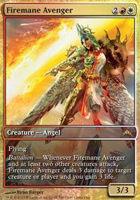 Firemane Avenger - Promos diverses