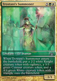 Trostani's Summoner - Promos diverses
