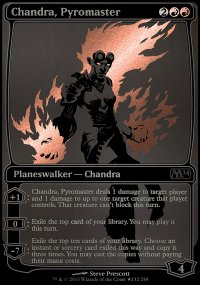 Chandra, Pyromaster - Promos diverses