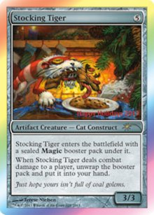 Stocking Tiger - Misc. Promos
